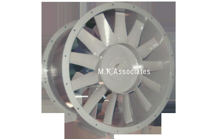 Axial Tubular Fan : M k associates centrifugal air blowers